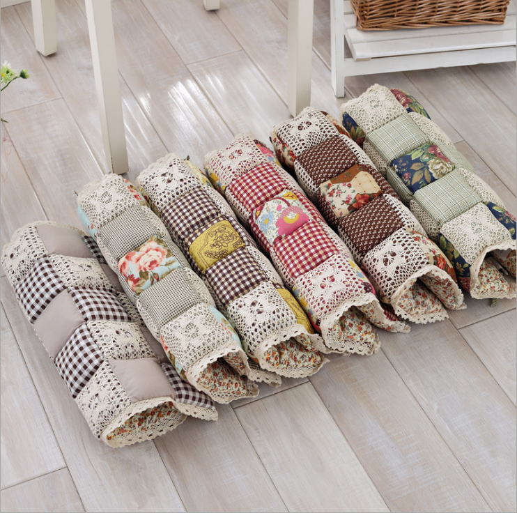 Hot-selling all-cotton thick autumn and winter thin quilted chair cushion