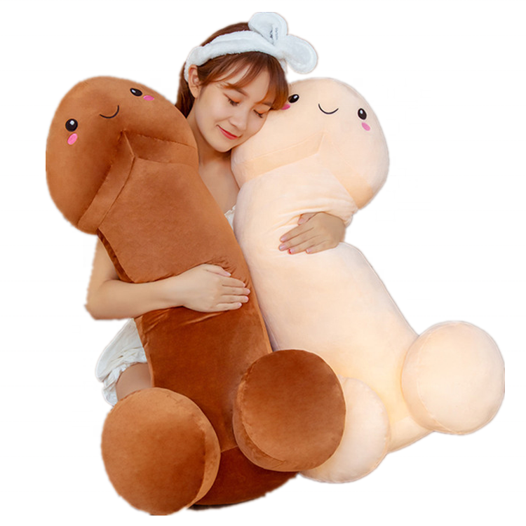 2020 hot sale plush toy plush dick toy custom stuffed simulation penis pillow shape soft toy