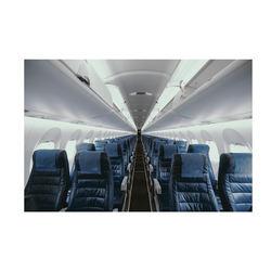 Hot selling cowhide airplane seat cushion aviation flame retardant leather seat cushion