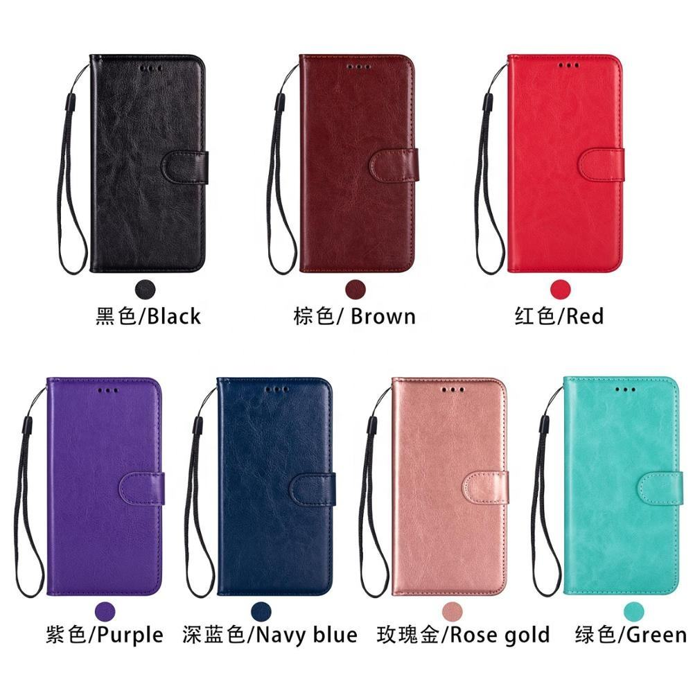 Wholesale Custom Logo Card Slot Mobile Phone Shell Wallet Leather Flip Case for samsung galaxy s20 phone case cover