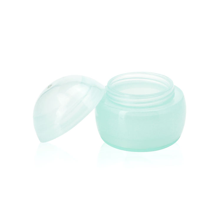 3 ml 3 g lip balm jar container eye cream green plastic jars with screw top lids