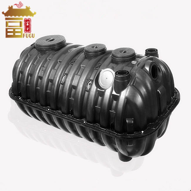 China Manufacturer Three Chamber HDPE Aerobic Toilet Septic Tank System