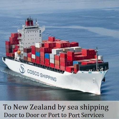 sea shipping by less container load free shipping New Zealand from china