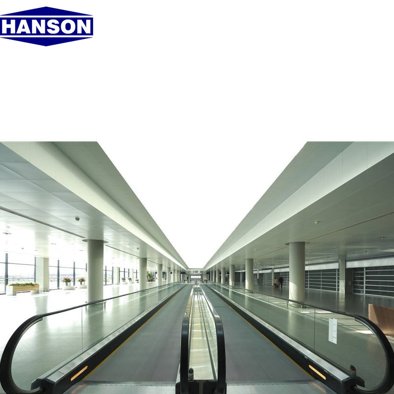 Hanson 9000 Person Per Hour Electric Commercial Automatic Moving Walk