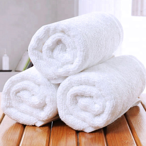 Custom Logo Towel 32S Pure Cotton White Egyptian Cotton Hand Towels Bath 100% Cotton Towel Set Toallas for Hotel SPA