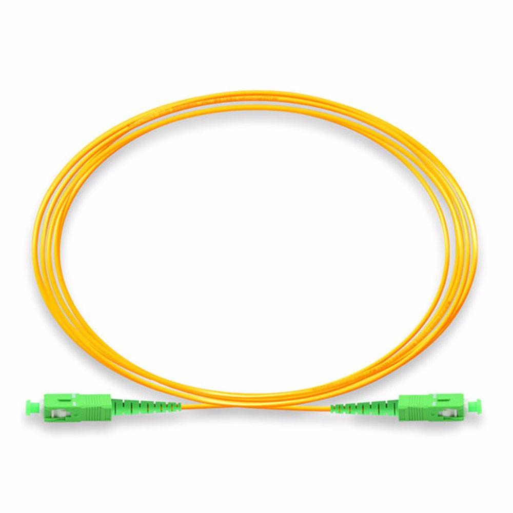 SC <span class=keywords><strong>APC</strong></span> /UPC Fiber Optic Kabel Pigtail/Serat Optik Kabel Patch Cord