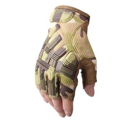 Outdoor climbing tactical gloves motorcycle riding half-finger labor protection tool gloves