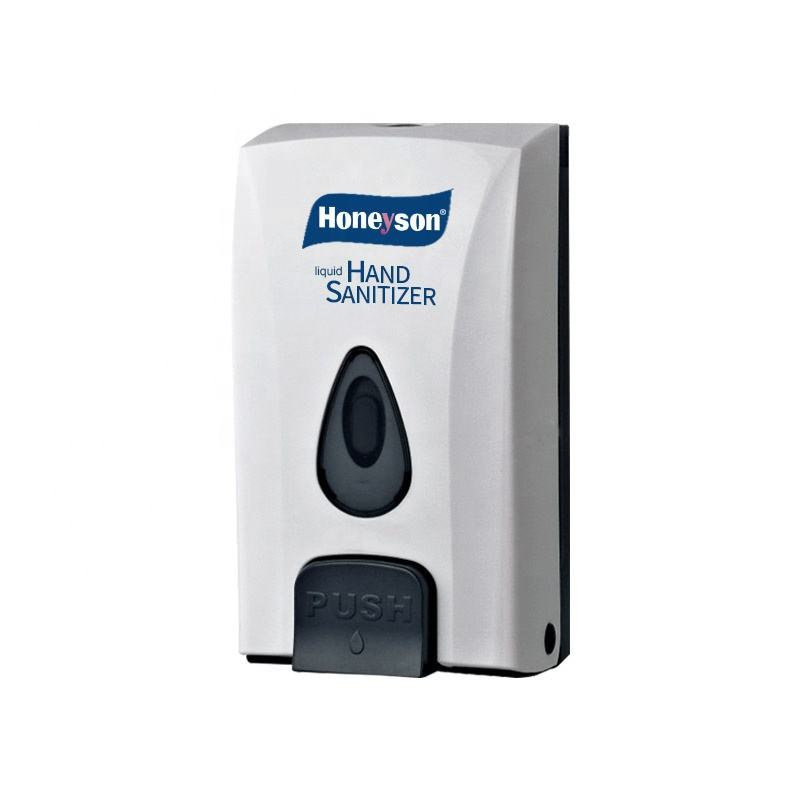 Honeyson wall mounted liquid hand sanitizer dispenser/soap dispenser for public place