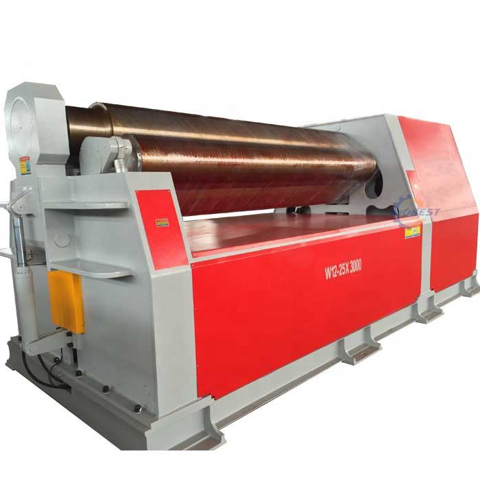 CNC Four Roller Steel Sheet Plate Bending Rolling Machine