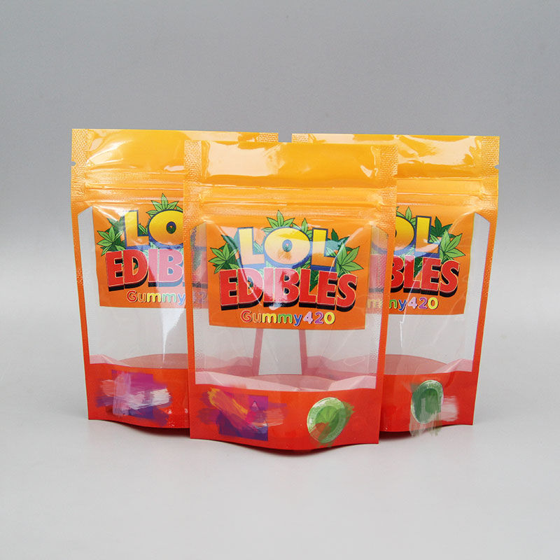 New chuckles best selling customized package LOL jungle boys Child proof mylar packaging zip lock mylar bags