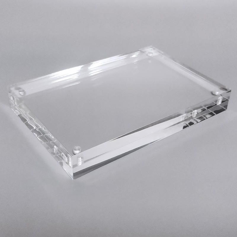High Transparency Magnetic Picture Frames Frameless Acrylic Photo Frame