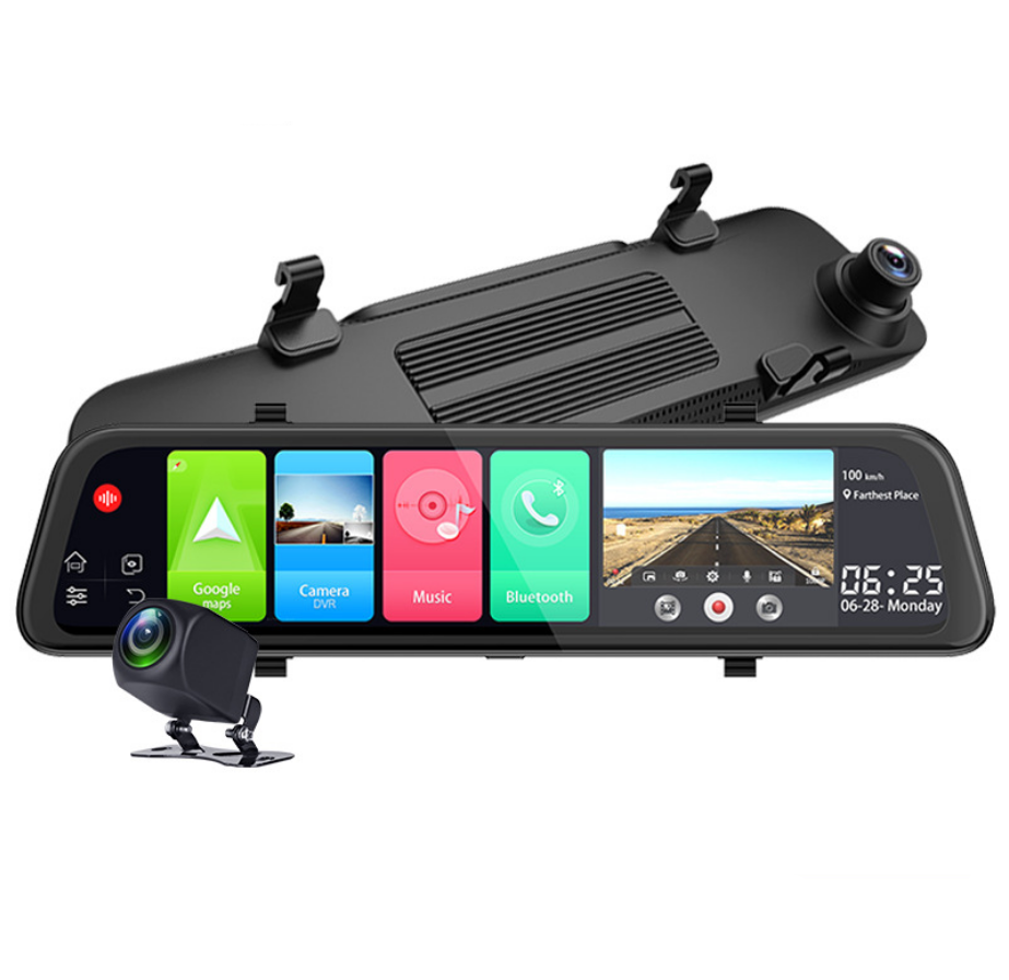 4G Dash Cam 12インチCar Rearview Mirror ADAS Android 8.1 FHD Auto Recorder GPS Navigation Dash Camera Rear View Mirror Car DVR