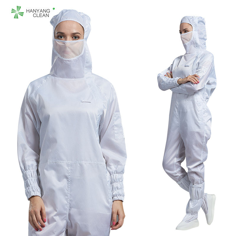 Autoclavable lint free cleanroom esd anti static uniform