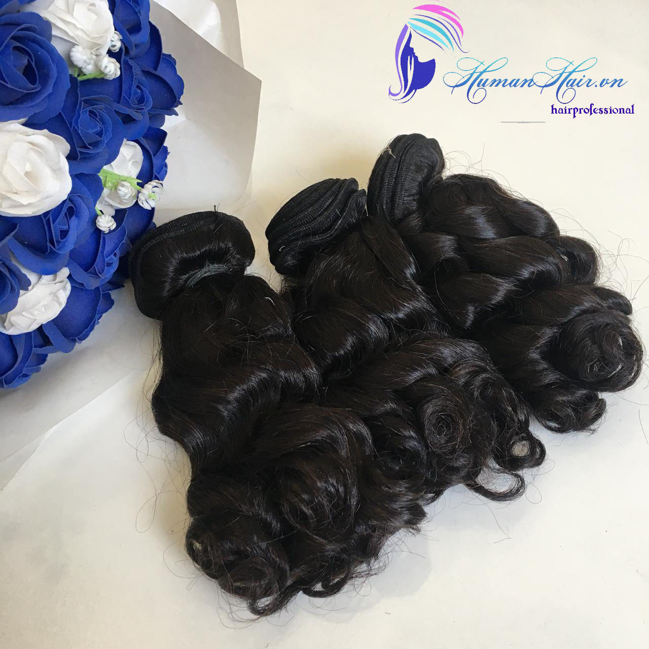 weft hair can last from 6-12 months, and the type of high-tempered hair