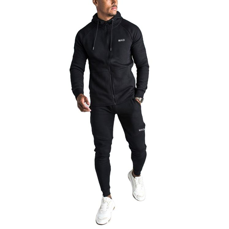 China Factory Custom Logo Heren Trainingspakken Private Label Jogger Sets Premium Tech Fleece Trainingspakken Mannen
