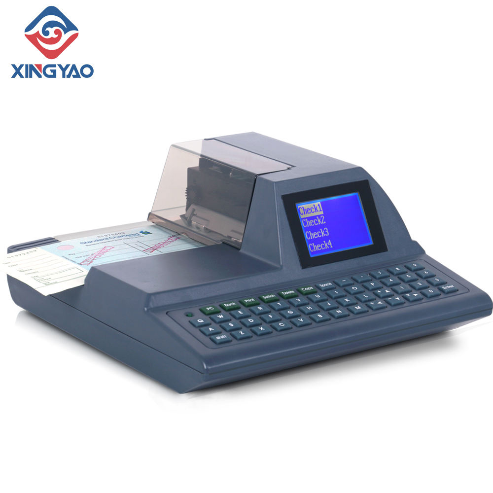 Intelligent Automatic Full-Keyboard Check Printing Printer cheque writer Check Writing Machine