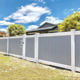 Fence Panels Fence Panels 6x8 Ft White Color Plastic PVC Vinyl Cheap Privacy Fence Panels