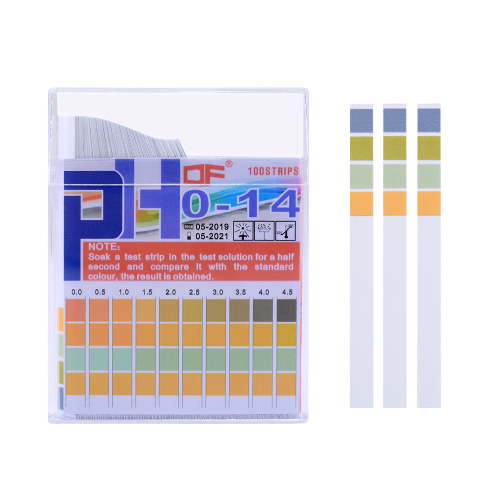 100 Pcs Universal Ph Test Papier Strips Voor Test Body Zuur Alkalisch Ph Niveau, Aquaria,