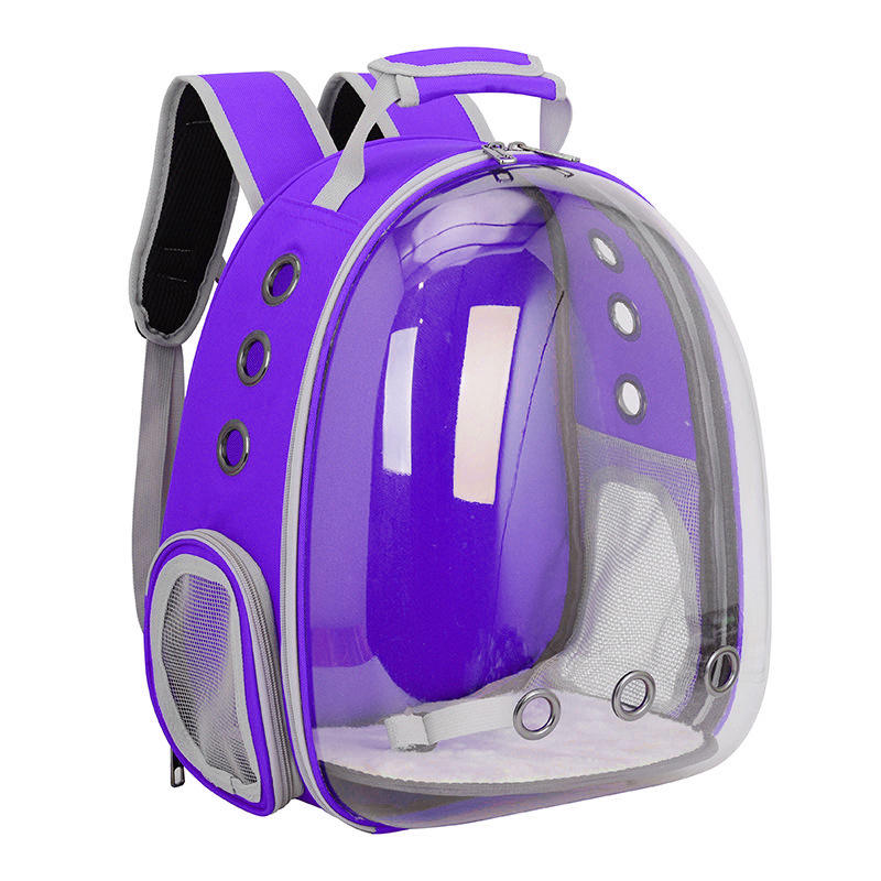 Breathable transparent car pet dog cat carrier backpack shoulder bag cage capsule nest