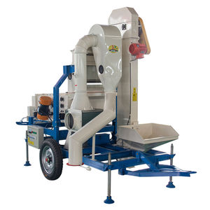 Grain Cleaning Machine/ Soybean Seed Cleaner and Grader for Wheat Barley Quinoa