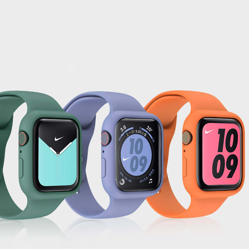 Single Color Silicone Watch band for apple watch band