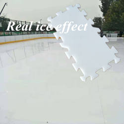 UHMWPE ice skating rink/synthetic ice ice skating rink/factory direct selling low-cost simulation rink