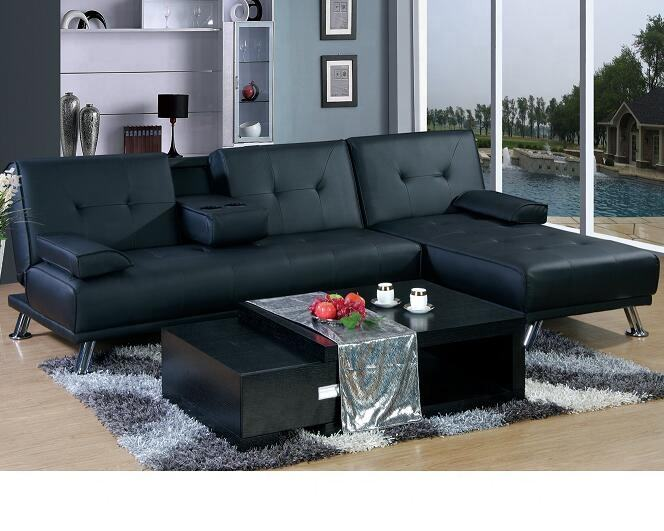 Sectional couch l shaped corner sofa bed wholesale