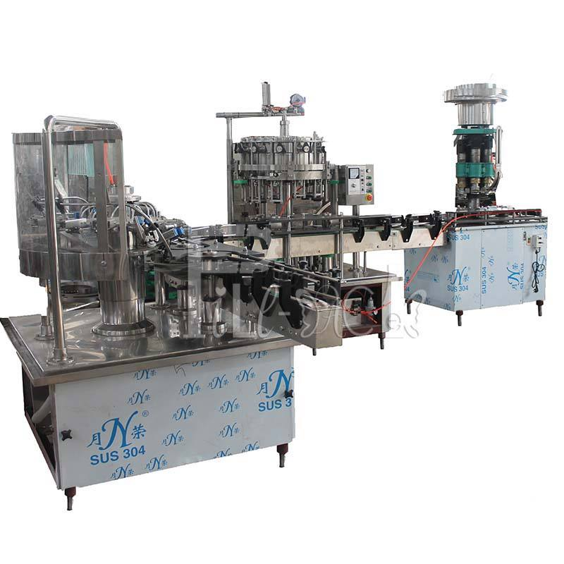 25b/min 12 heads glass bottle beer filling machine / equipment / line / plant about beer