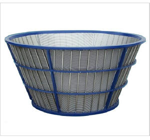 Screen Centrifugale Zeef Metalen Mesh Roestvrij Stalen Filter Wedge Wire Mand