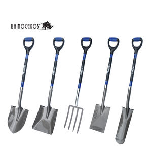 High Quality Carbon Steel Head Garden Tool Spade Square Point Shovel /