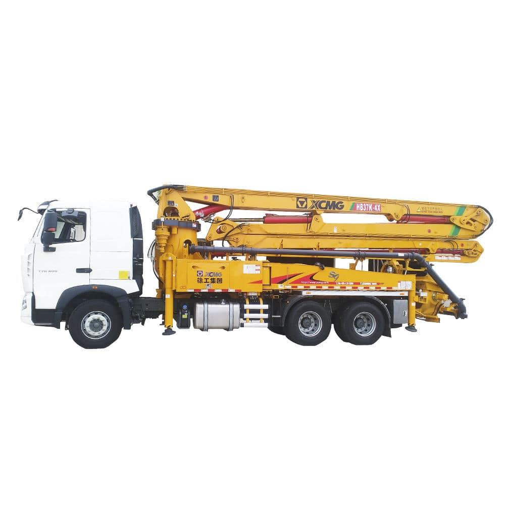XCMG Euro3 Truck Mounted 37m 25ton 130m3/h Concrete Boom Pump Truck with Cheap Price