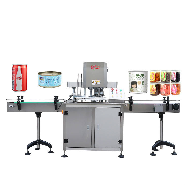 Seaming Machine Automatic Can Sealing Filling Machine/automatic Plastic Paper Can Seaming Machine/metal Bottle Tin Can Seaming Machine
