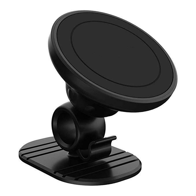 Stand Phone Holder Leadingplus 360 Magnetic Car Phone Holder Mini Stand Cell Phone Magnet Mount Car Holder For IPhone Samsung