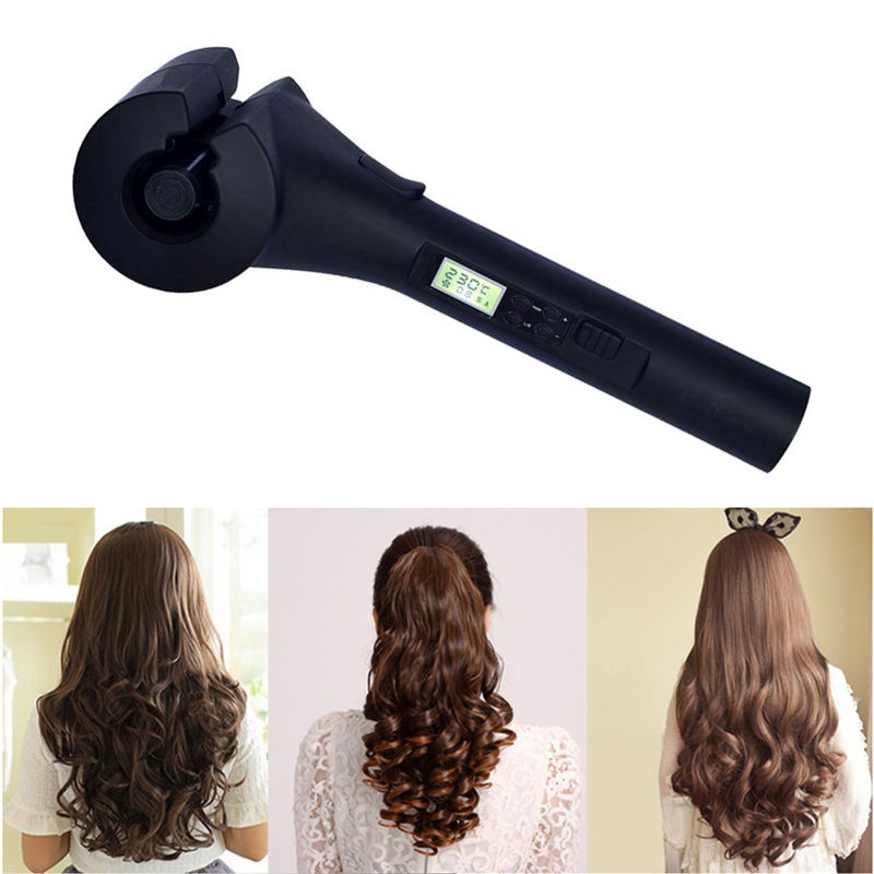 New LCD Automatic Hair Curler Magic Curling Iron Women Wave Hair Styling Tools Ceramic Heating Anti-perm Curl Styler For Lady