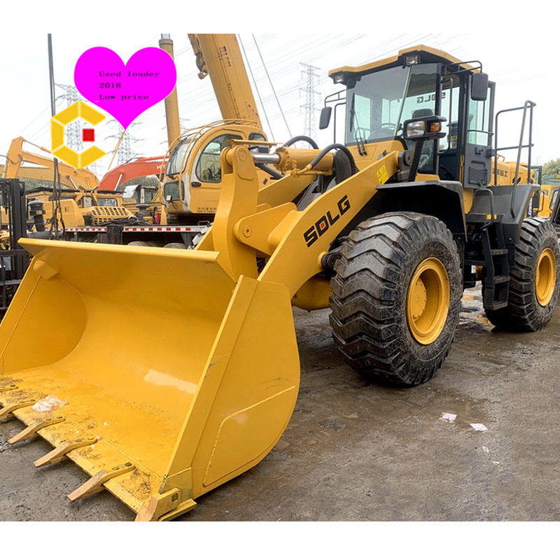 China brand Used 956L Wheel Loader, sxlg front 5 956L tons loader at lowest price and few working hours