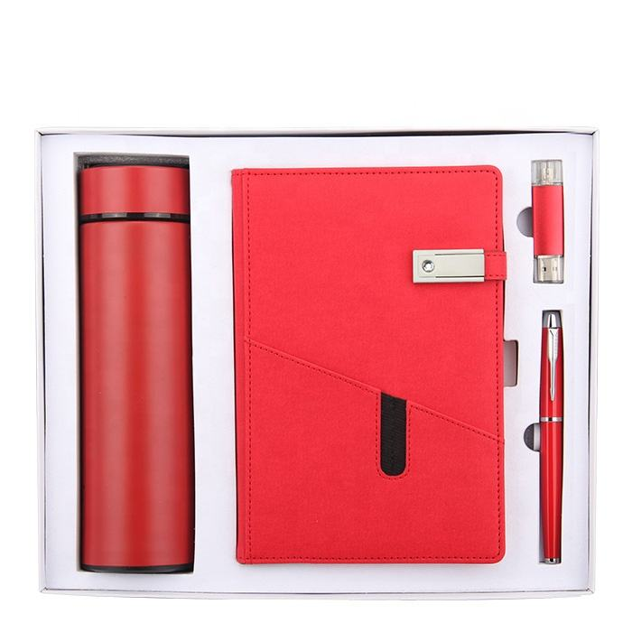 New product ideas 2021 luxury mother day gifts 2021 custom logo planners for women notebook and pen gift set with usb and cup