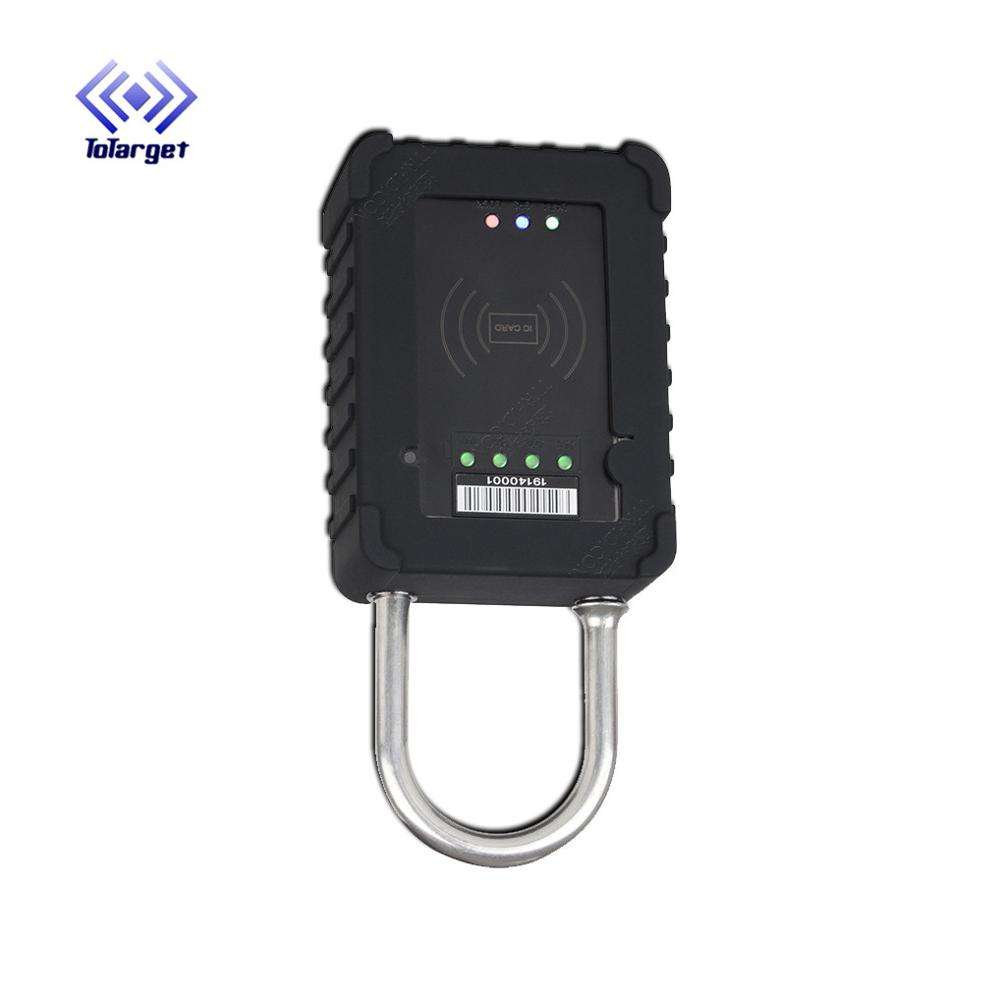 Universal Large Bottom Lock Door Warehouse Logistics Car Padlock Smart GPS Container Lock