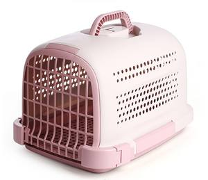 Portable pet cage porous and breathable simple pet air box