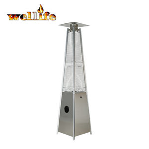 CE Outdoor infrared pyramid flame bbq stand patio heaters