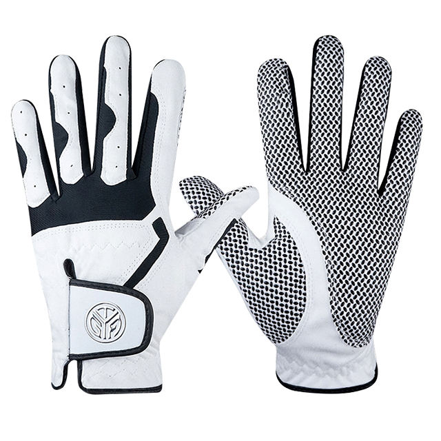 wholesale personalized foot joy mens golf winter sheepskin cabretta leather winter leather golf gloves guantes de golf