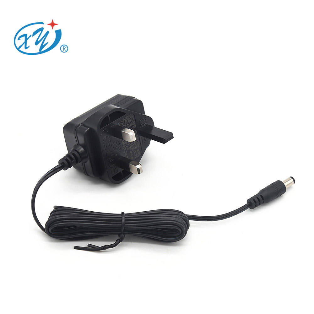China Factory ac dc Power Adapter UK Wall Plug 5V 9V 12V 24V 0.5A 1a 1.2a AC DC Power supply for Led Strips