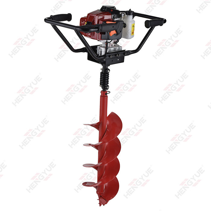 garden tools tree planting hole digger 1.6hp gas earth auger 68cc
