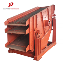 Durable High Amplitude 3yk1860 Mining Stone Circular Vibrating Screen for Construction Sand