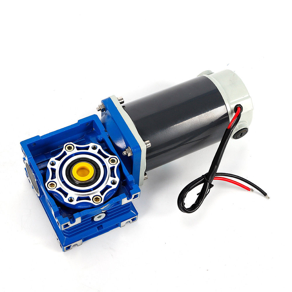 Wholesale price 12V 24v dc motor reducer NMRV30 worm gearmotor for printer