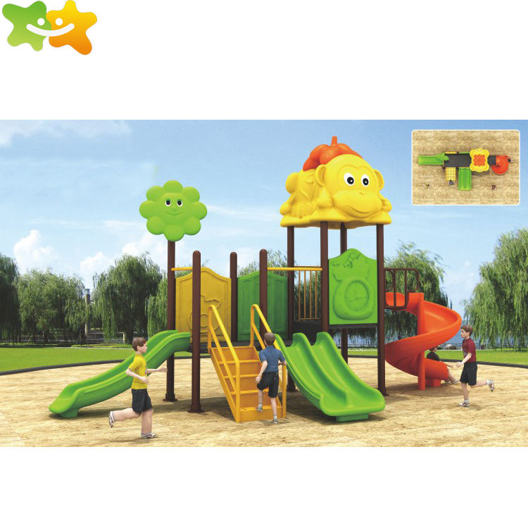 New Product School Garden Child Toy Slide Equipment Outdoor Playground For Sale