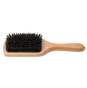 Boar Bristle Bamboo Hair Brush Without Nylon Balls