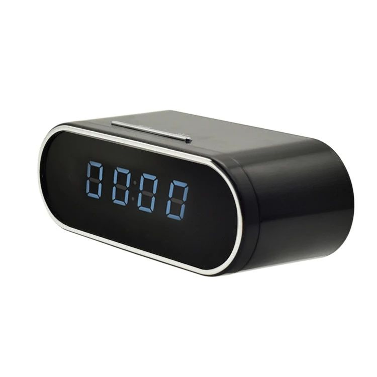 1080P HD WIFI Alarm Clock Camera Motion Detection Cameras