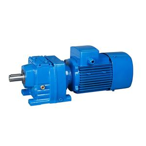 Agitator used high torque helical low rpm straight shaft ac gear motor