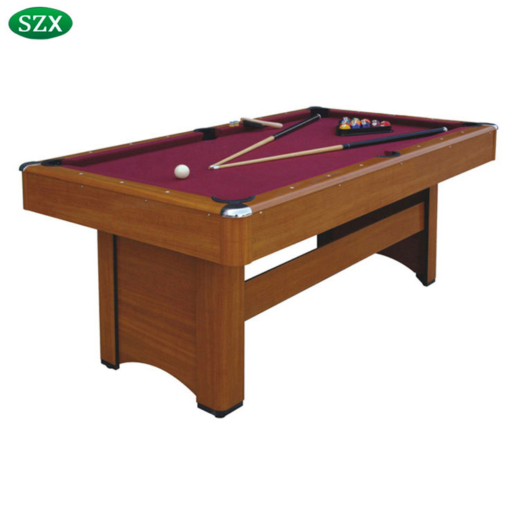SZX 6ft Hot selling used modern billiard pool table price for sale