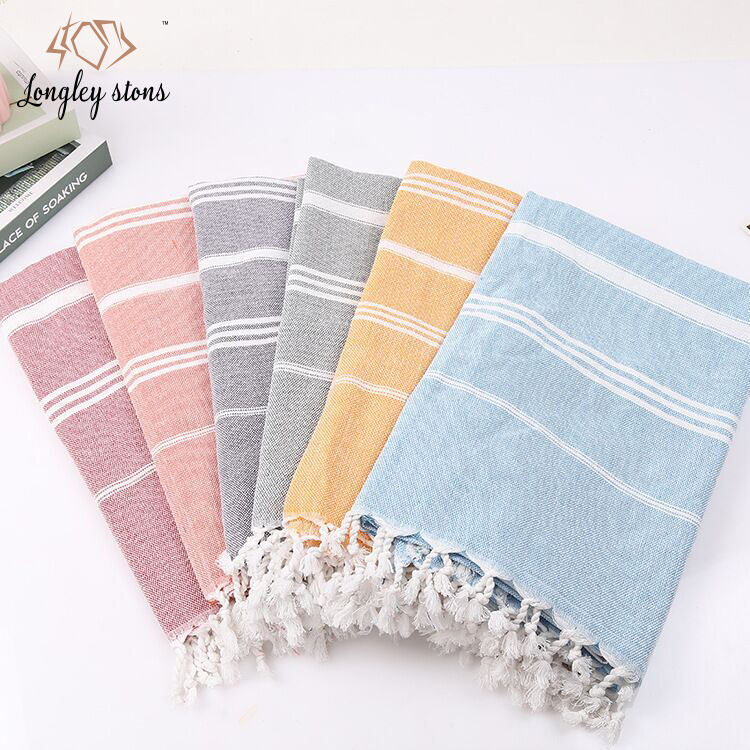 Turkish cotton beach towels 100% cotton oversized